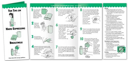 Hand Expressing Breastmilk - English