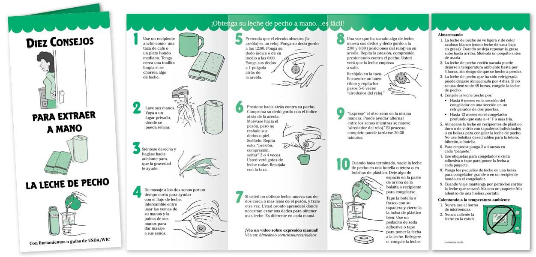 Hand Expressing Breastmilk - Spanish