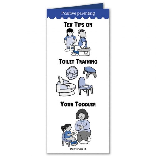 Ten Tips on Toilet Training Your Toddler Pamphlet