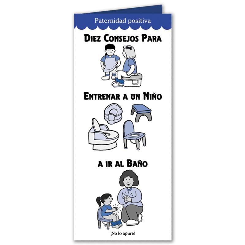 Ten Tips on Toilet Training Your Toddler Pamphlet - Spanish