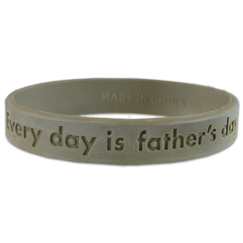 Every Day is Father's Day Wrist Bands