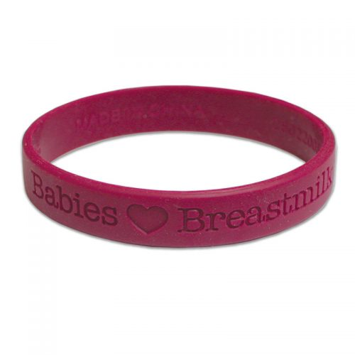 Wrist Band Babies Love Breastmilk - English