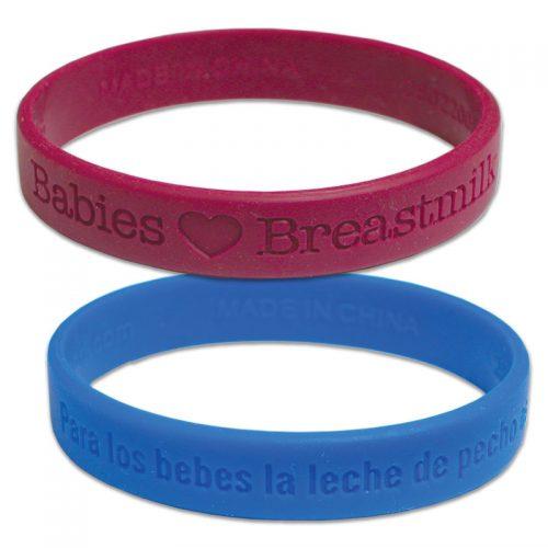 Wrist Band Babies Love Breastmilk