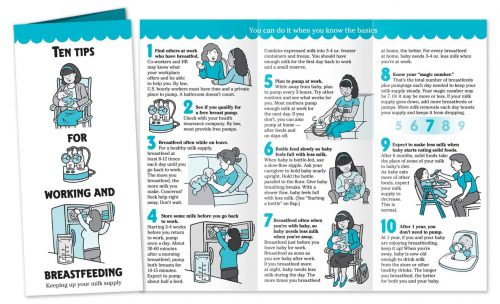 Ten Tips for Working and Breastfeeding