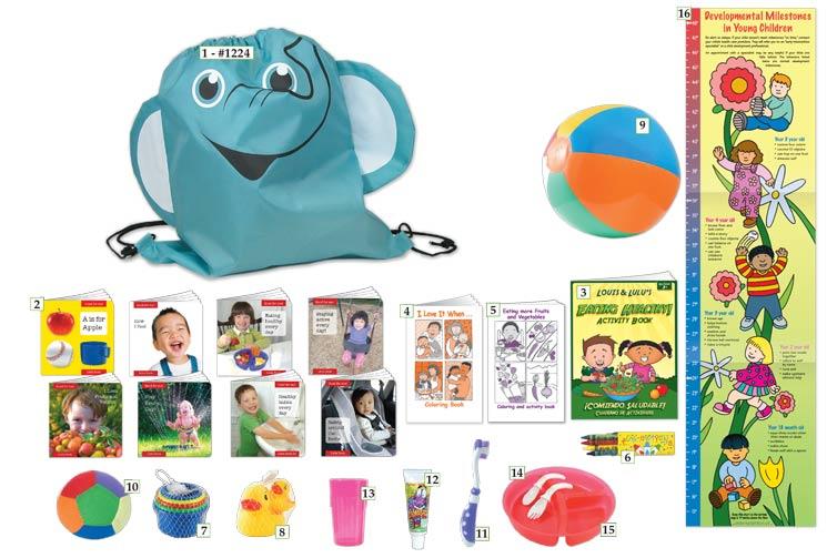 Toddler Development Kit - Elephant