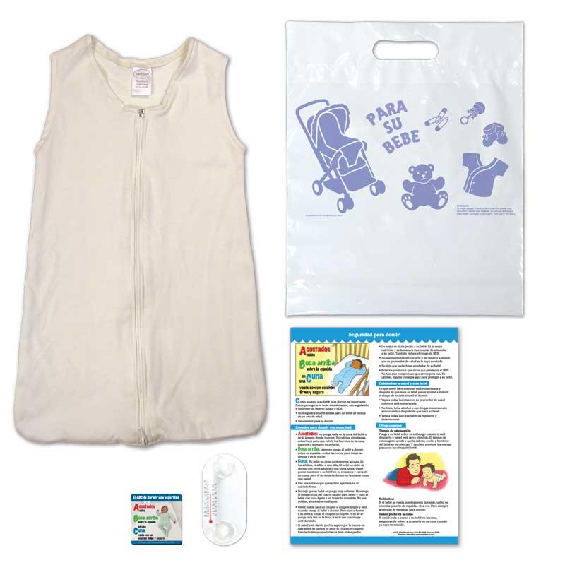Safe Sleep Kit - Spanish