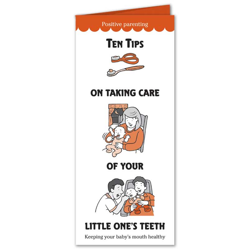 Taking Care of Your Little One's Teeth pamphlet