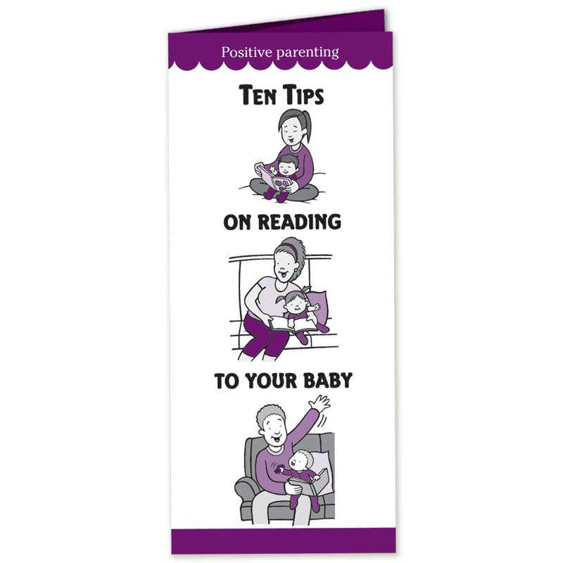Ten Tips on Reading to Your Baby pamphlet