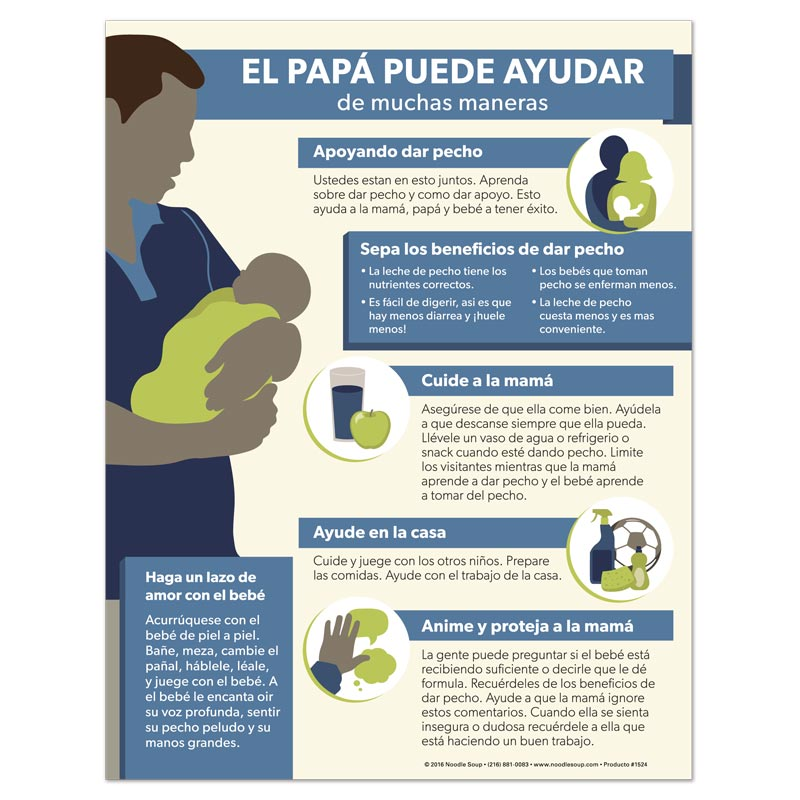 Dads Can Help - Spanish