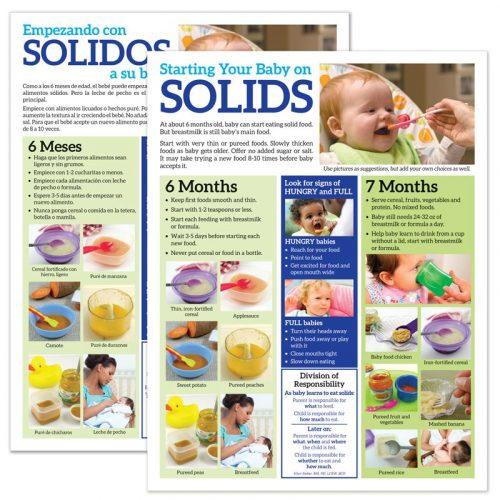 Starting Solids tear pad