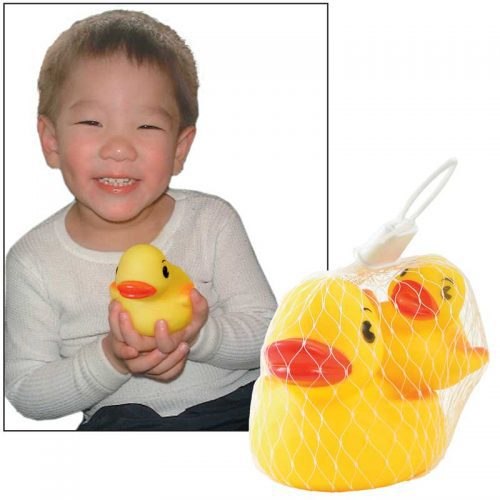 Rubber duck bath toys