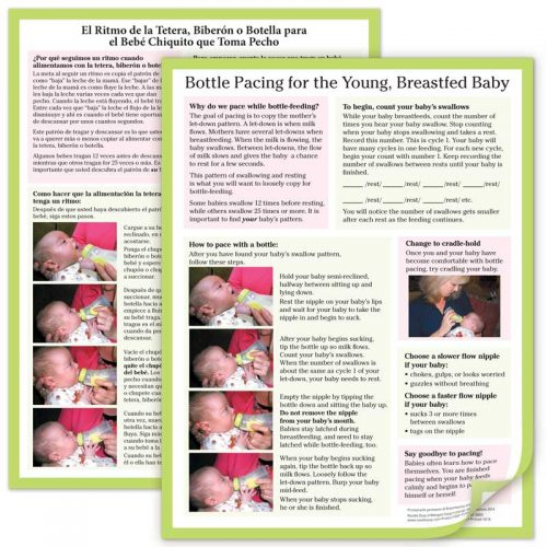 Bottle Pacing for the Breastfed Baby