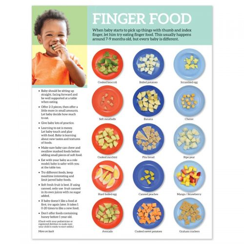 Finger Food tear pad