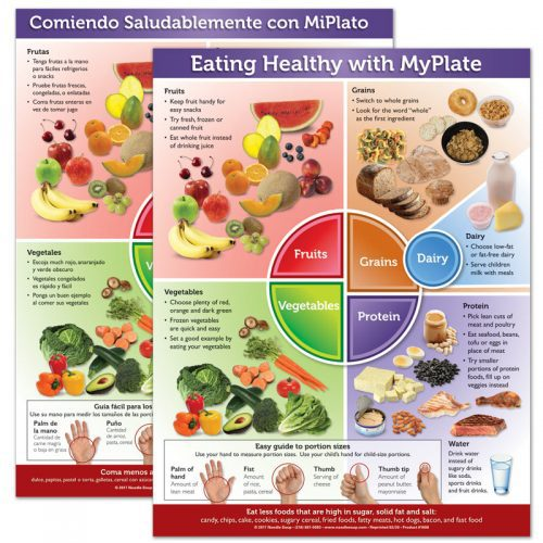 Eating Healthy with MyPlate tear pad