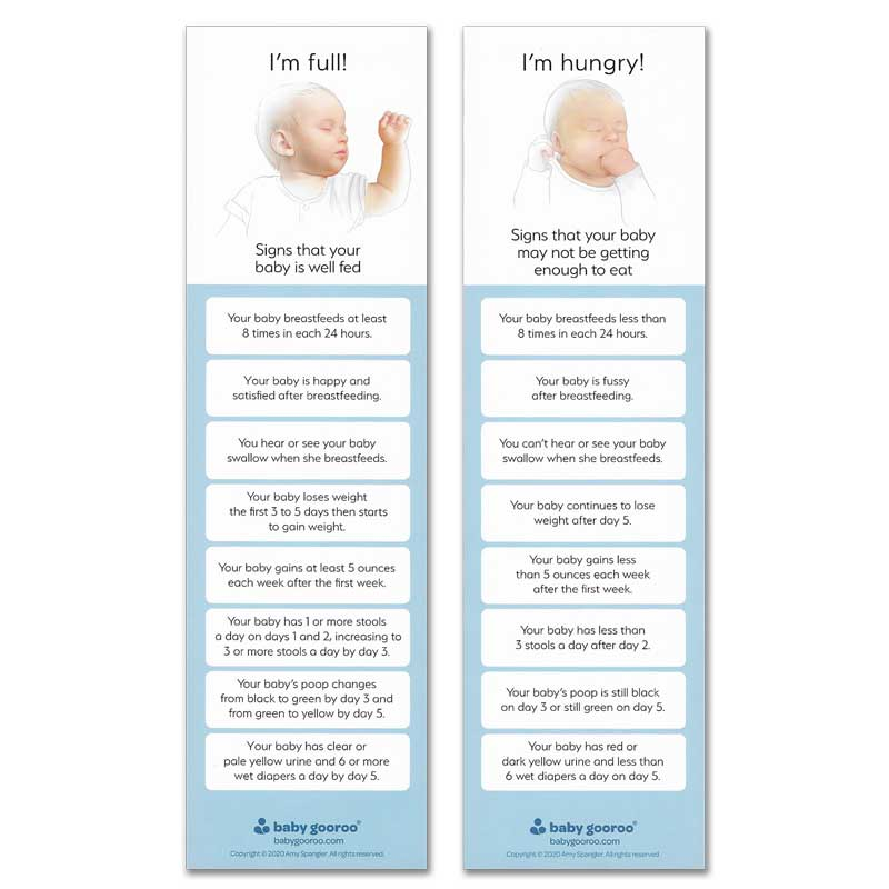 I'm Full I'm Hungry bookmarks