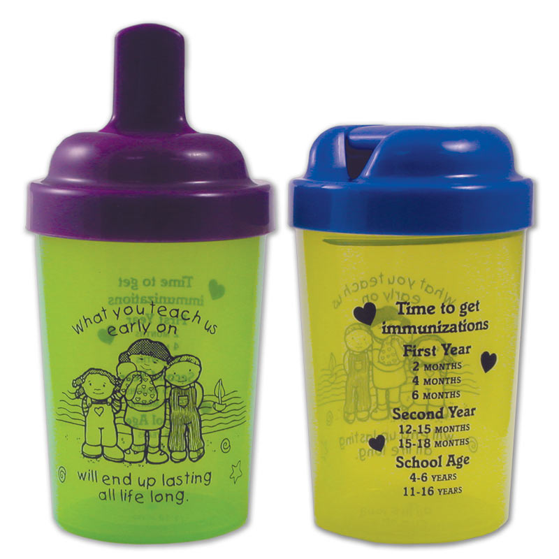 What you Teach us sippy cup
