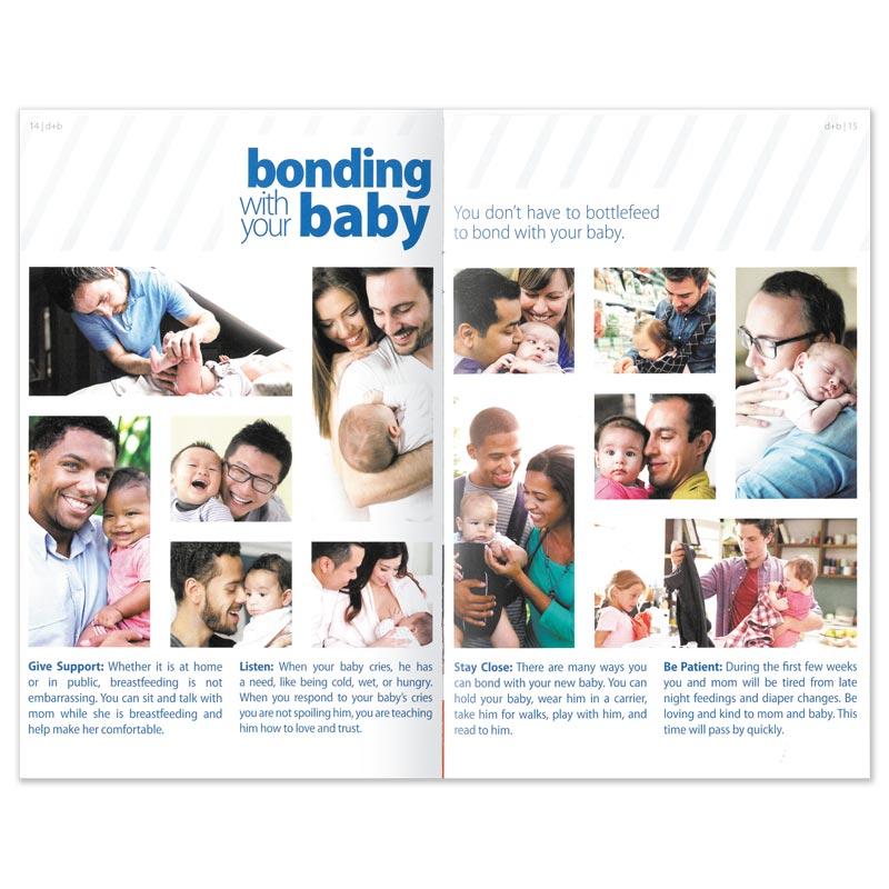 dad + baby booklet