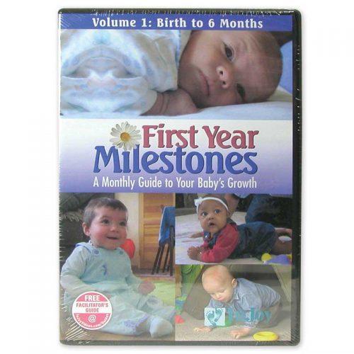 First Year Milestones DVDs
