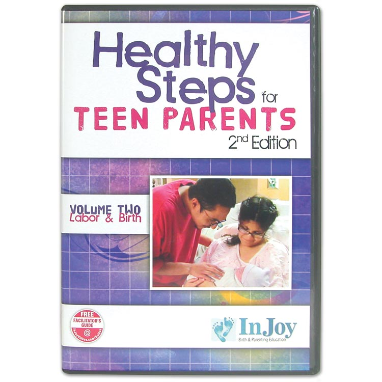 Healthy Steps for Teen Parents dvds