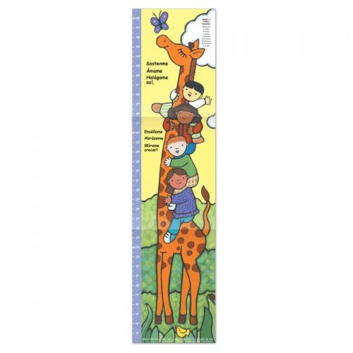 Immunization Shots growth chart - Spanish