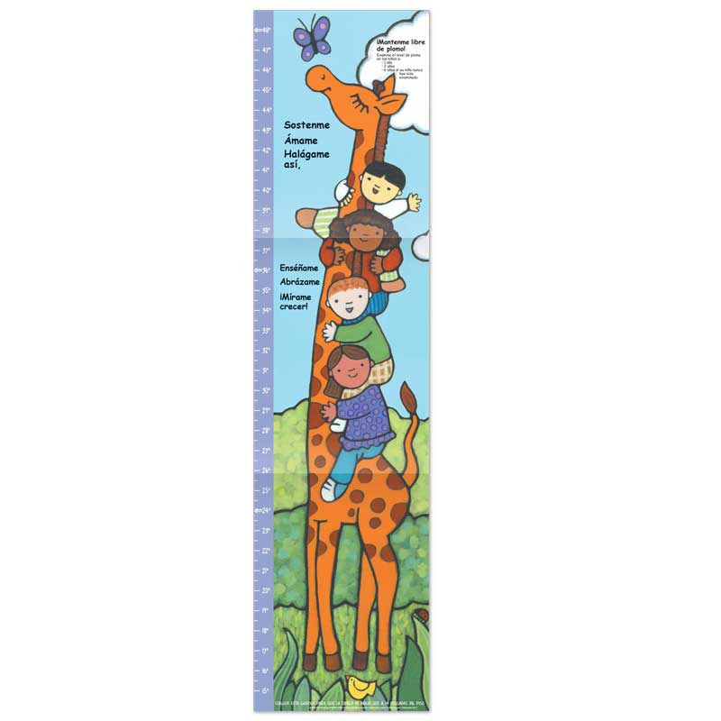 Lead Free Growth Chart - Spanish