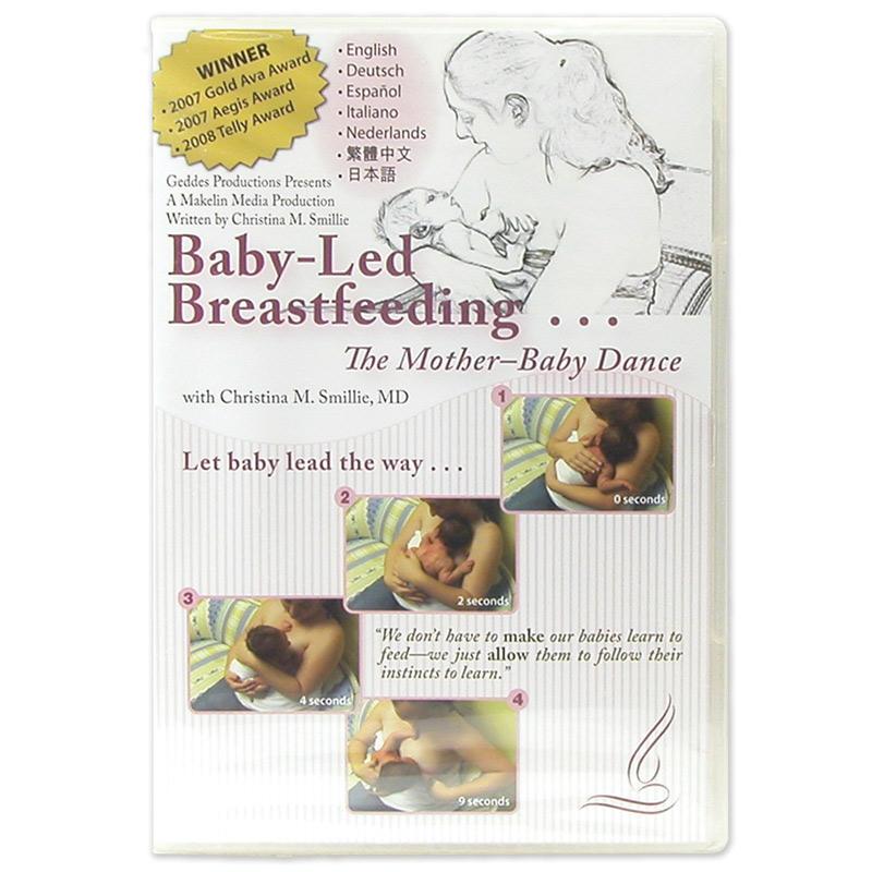 Breastfeeding DVD Baby=Led Breastfeeding