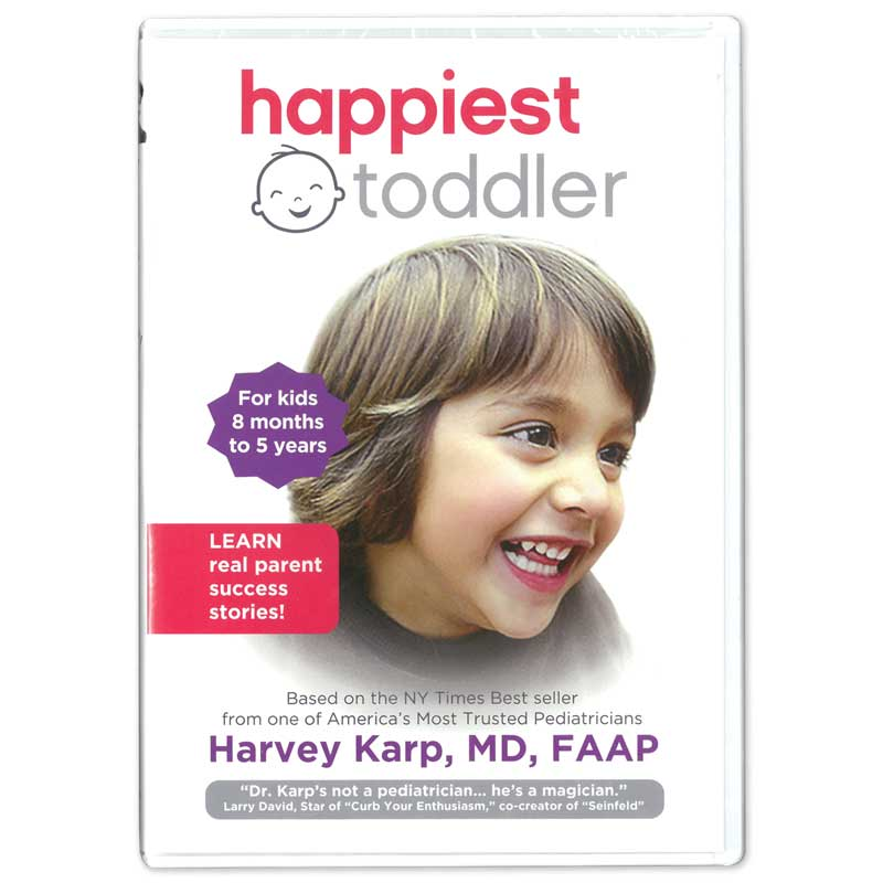 The Happiest Toddler DVD