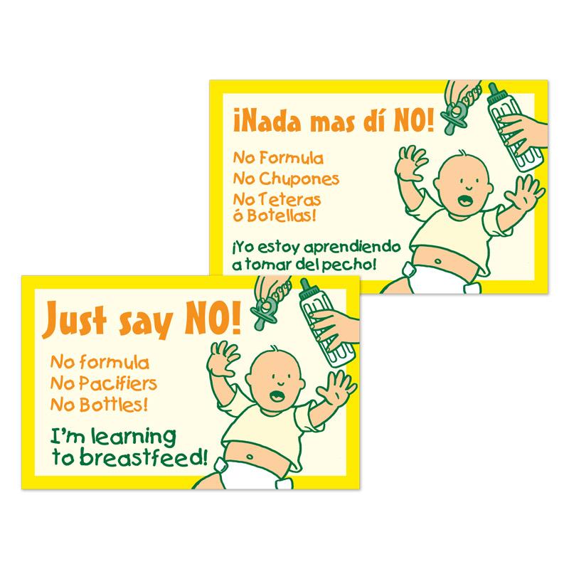 Crib Card Say No