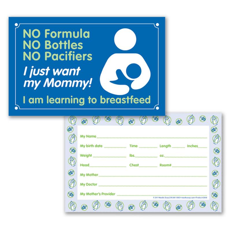 Crib Card My Mommy