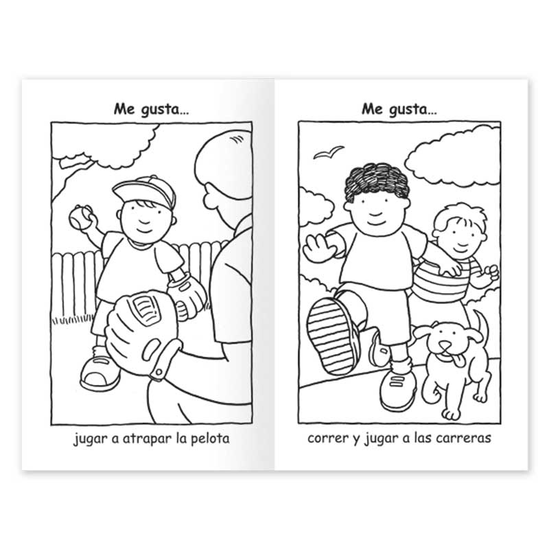 Got to Keep on Moving coloring book - Spanish