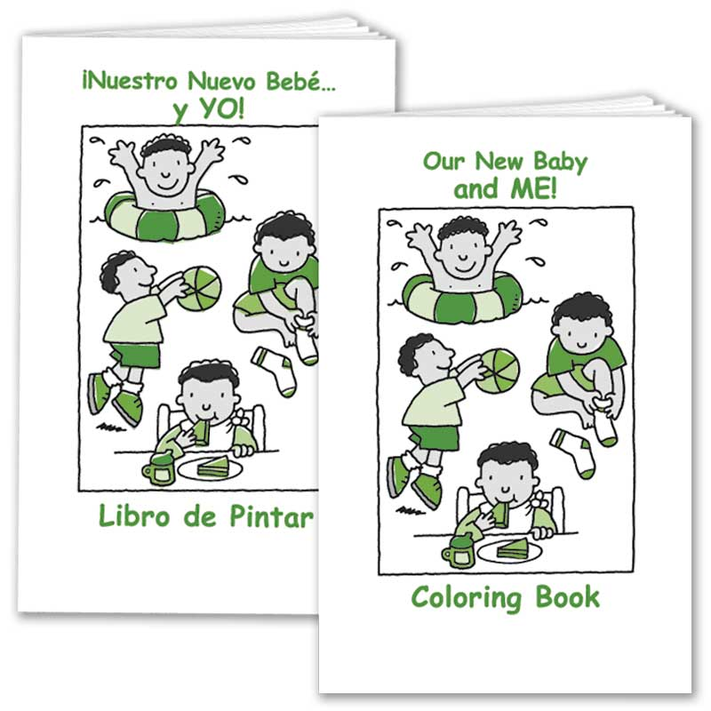 Our New Baby... and ME! Coloring Book