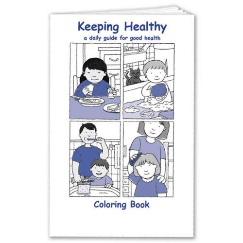 Keeping Healthy Coloring Book