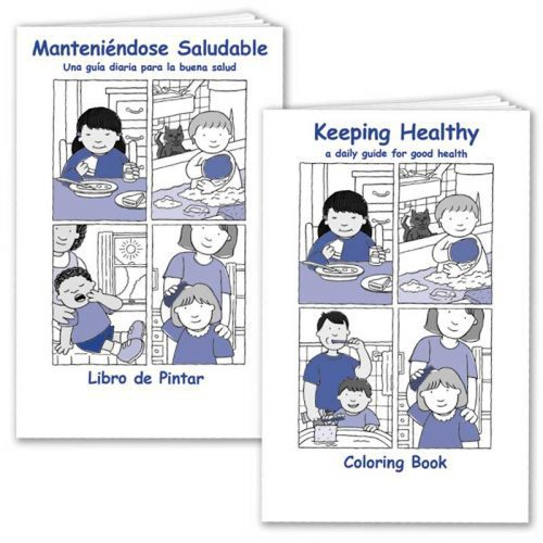 Keeping Healthy Coloring Book