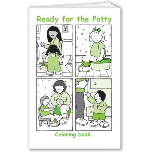 Ready for the Potty Coloring Book