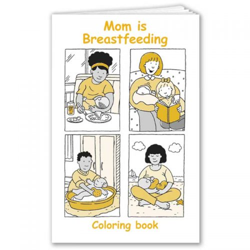 Mom is Breastfeeding - English
