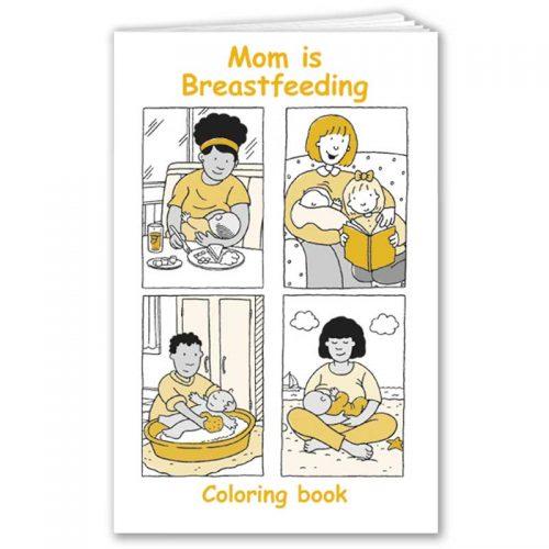 Mom is Breastfeeding - English