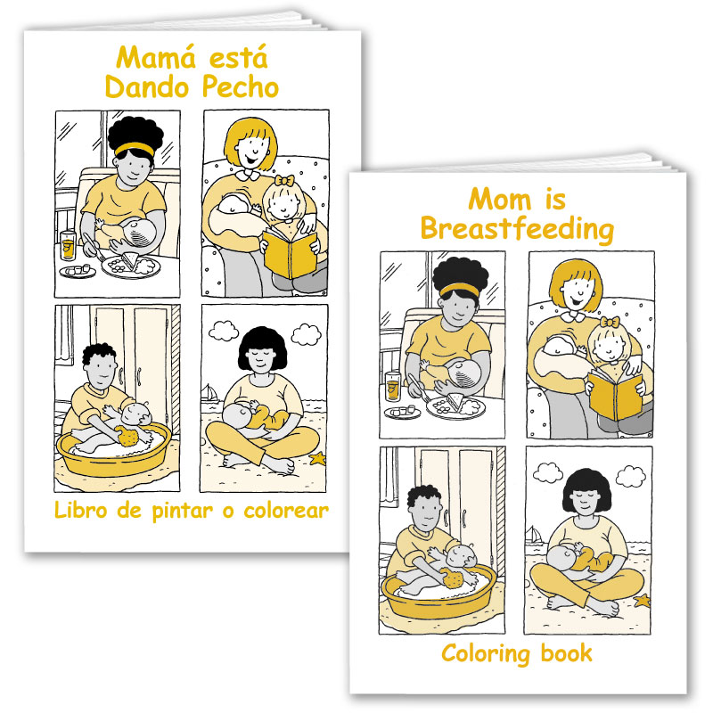 Mom is Breastfeeding