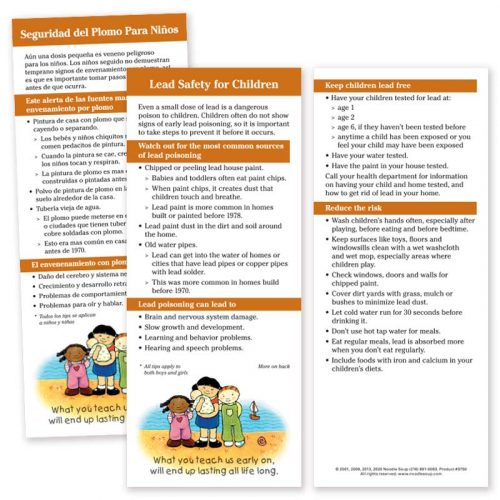 Lead Safety for Children Parent Pack