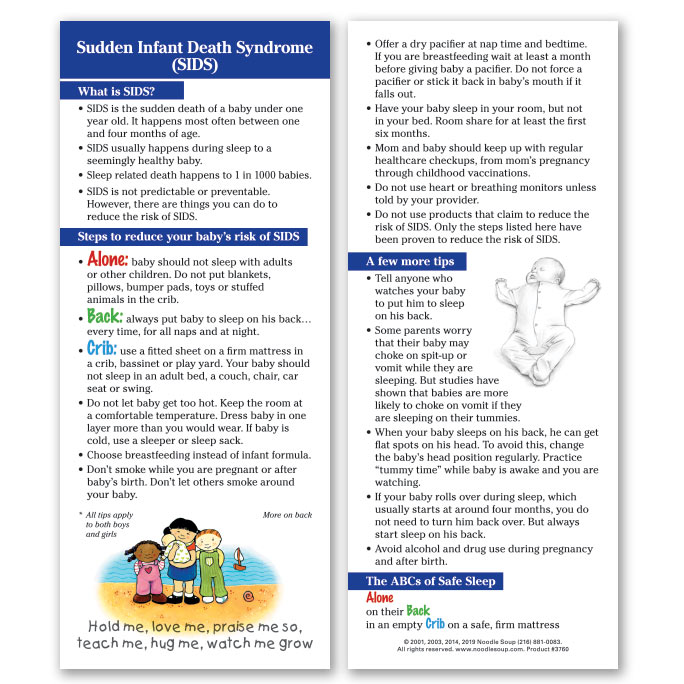 Sudden Infant Death Syndrome - English