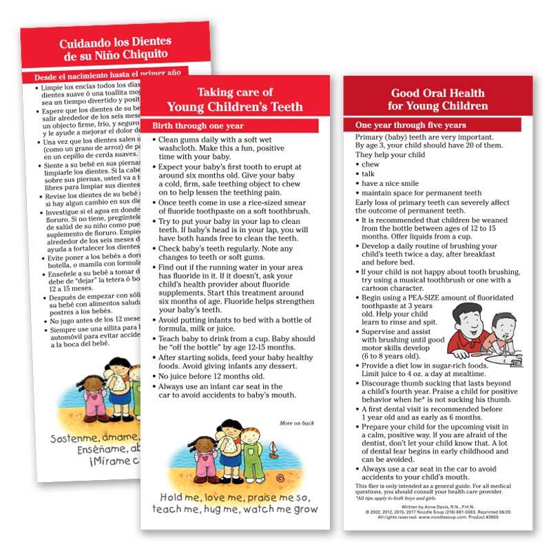 Care of Children's Teeth Parent Pack