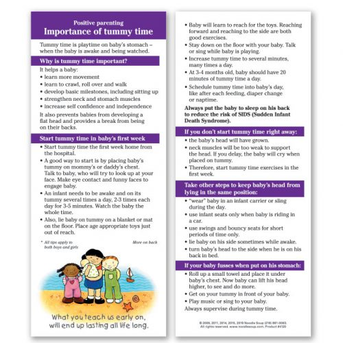 Importance of Tummy Time - English