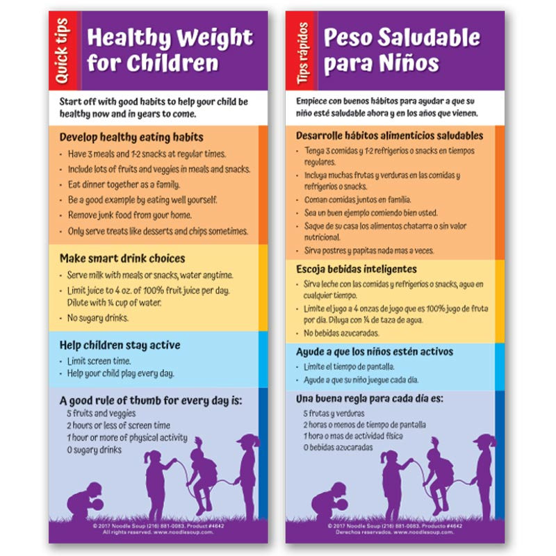 Healthy Weight Quick Tips