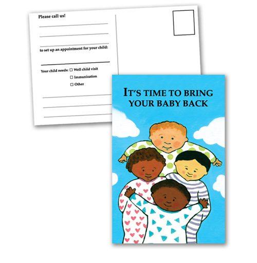 Reminder postcards