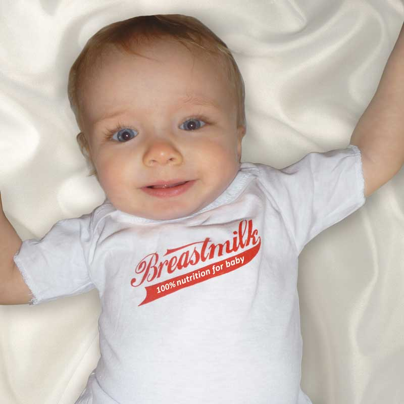 Breastmilk 100% Nutrition for Baby t-shirt