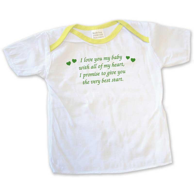 I Love You Newborn T-Shirt