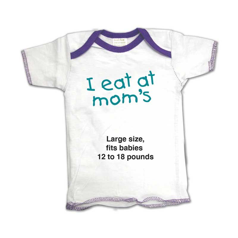 I eat at mom's lg