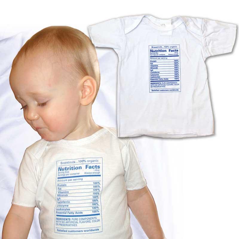 Nutrition Info t-shirt