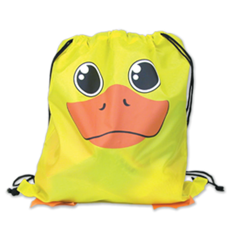 Duck Drawstring Backpack