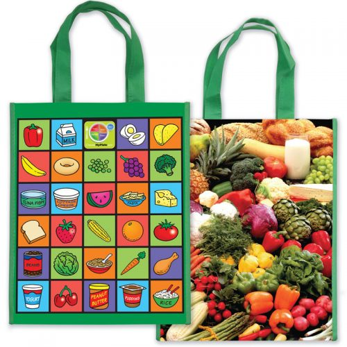MyPlate Laminated Grocery Tote