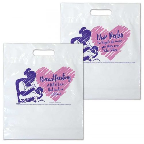 Breastfeeding a Gift of Love plastic bag